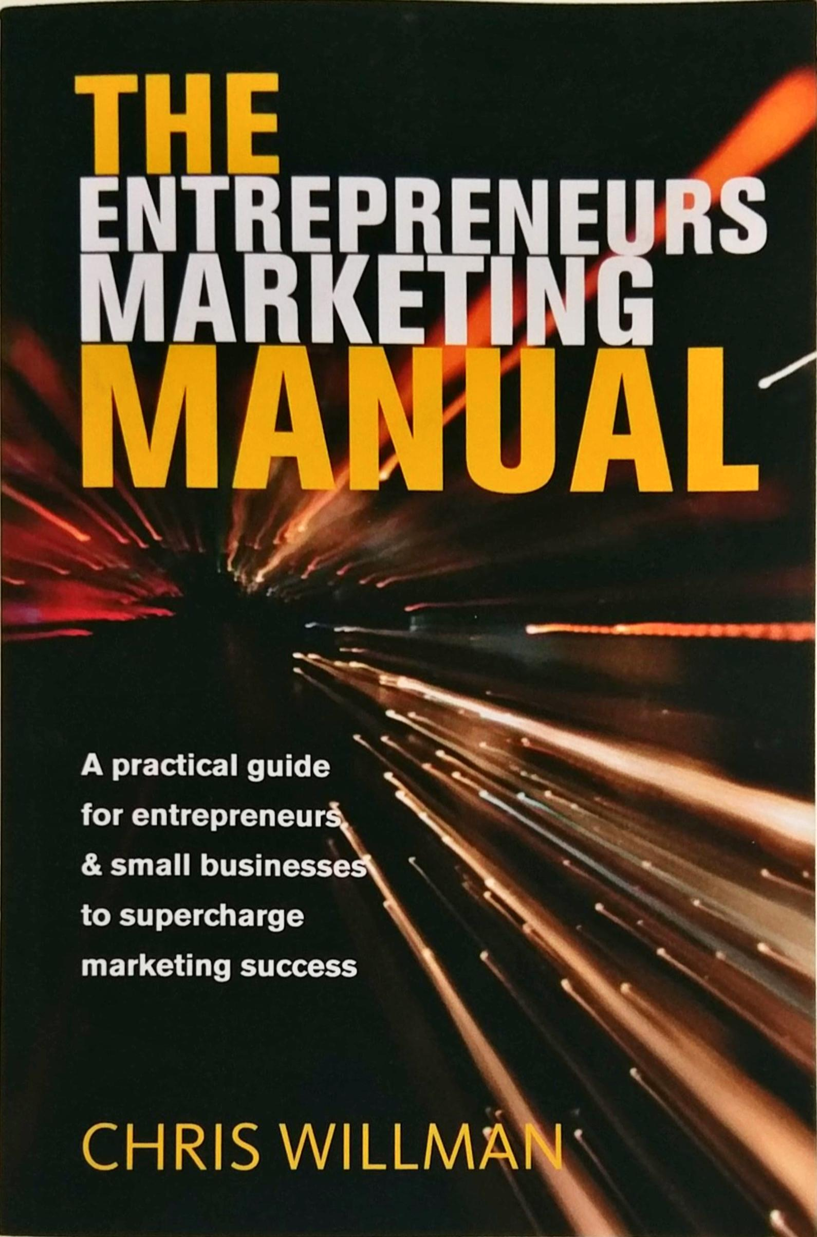marketing manual cover